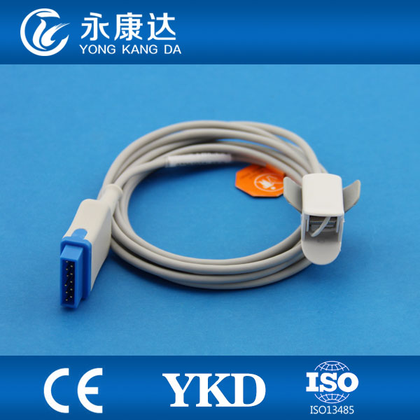 Stable Quality GE Dash 2000 2500 3000 Model Pediatric Finger Clip Spo2 Sensor