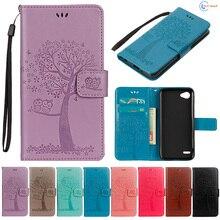 Flip Coque For LG Q6 Plus Q6+ M700AN X600KP TPU Wallet Case