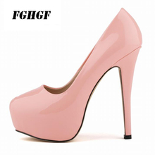 2019 High-Heeled Wedges For Women Shoes New Spring Autumn High Heeled Fashion Design Size Code 35-42
