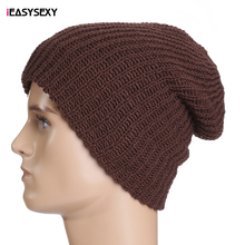 iEASYSEXY 2016 Eight Colors Autumn Winter Hedging Caps Unisex Beanies Hat Solid Thin Wool Knitted Skullies Tide Headgear Hats