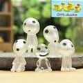 5 unids/lote Princesa Mononoke árbol luminoso elfos de jardinería maceta decoración Micro Paisaje accesorios Acción lps Figuras de juguete