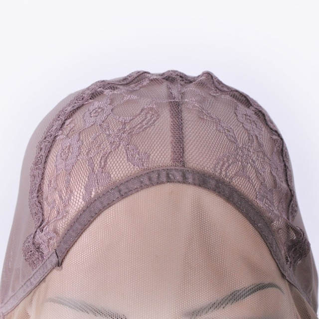 Lace Front Wig Cap For Wig Making Weave Elastic Hair Net Mesh Straps AdjustableLace Cap Making Wigs Accessory & Tools 2