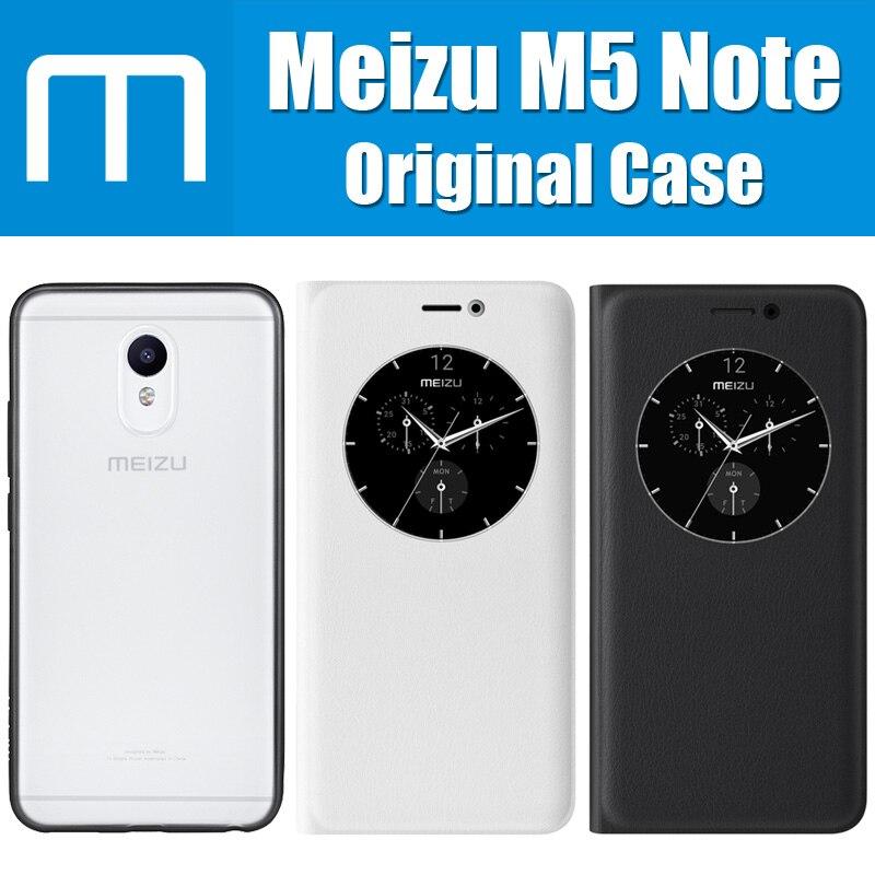 Цена за (Корабль из cn) meizu m5 примечание case оригинальный прозрачный матовый акриловый мешки для meizu m5 примечание петли куртка смарт флип кожаный крышка
