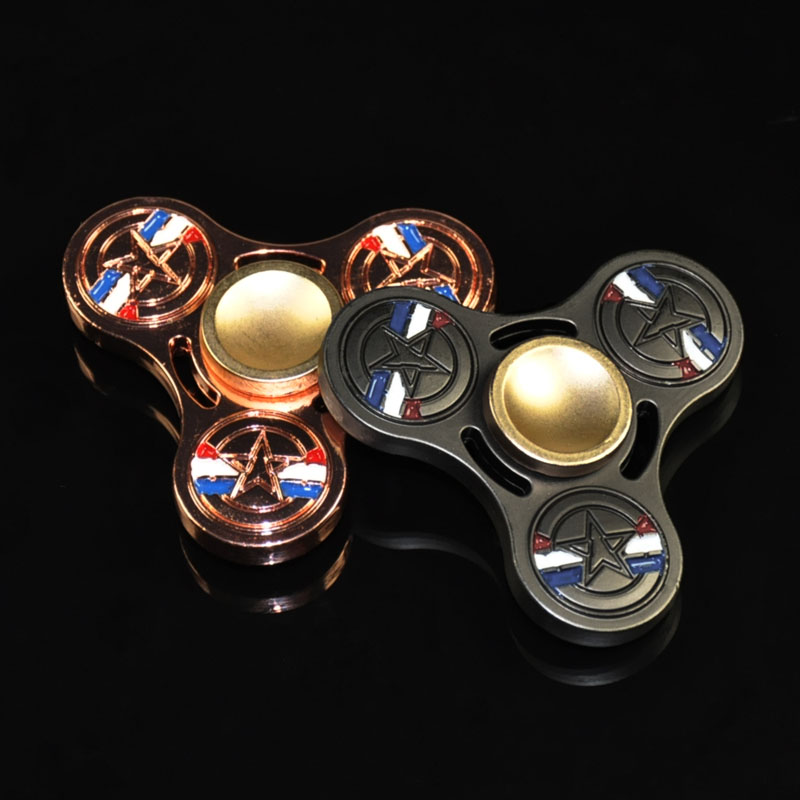 5cm 6cm EDC Toys the avenger Hand Spinner Metal Profession Spinner ADHD Spinner Fidget