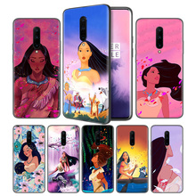 Pocahontas Soft Black Silicone Case Cover for OnePlus 6 6T 7 Pro 5G Ultra-thin TPU Phone Back Protective