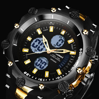 2017 Fashion Men's Watch Casual Sport digital watch Luxury Brand LED Quart Wristwatches Mans relogio masculino Watches Men Clock