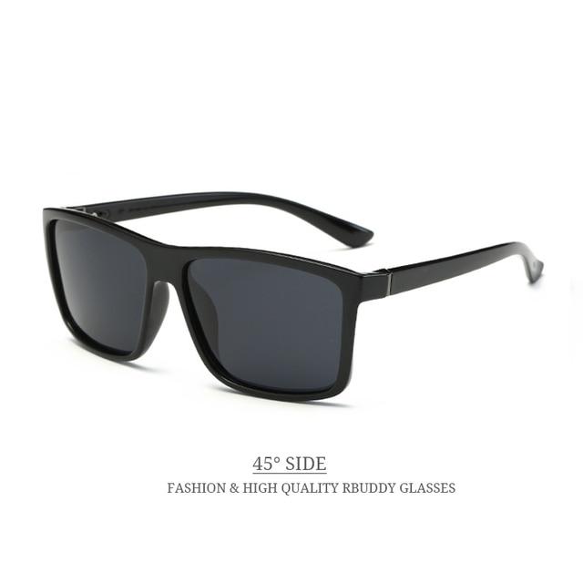 RBUDDY 2017 Sunglasses men Polarized Square sunglasses Brand Design UV400 protection Shades oculos de sol Men glasses Driver