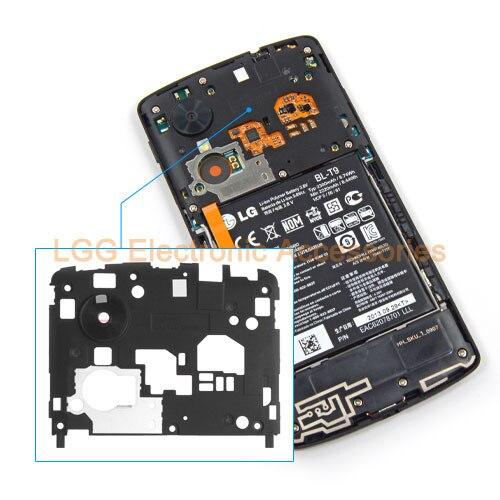 Оригинальные запасные части для LG Nexus 5 D821 D820 ближний компактные корпуса корпус + объектив камеры для Nexus 5 камера держатель лицевой панели
