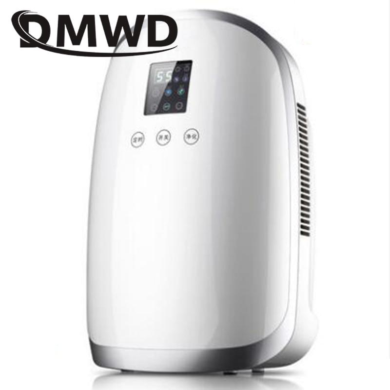 DMWD LED Display Absorber Electric Dehumidifier Air Purifier Auto off Desiccant Moisture Absorbing Air Dryer External