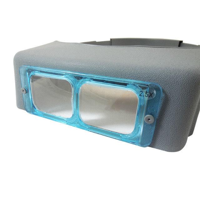 1.5X 2X 2.5X 3.5X Optivisor fejhallgató Órák javító nagyító - Mérőműszerek - Fénykép 2
