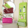 Travel Folding Makuep Bag Organizer Cosmetic Case Beauty Toiletry Bag Hanging Makeup Tool Kit