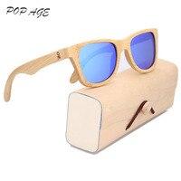 Spiegel Designer Zonnebril Mannelijke China Fabriek Sunglass Retail Prijs Goedkope Bril Shades Brillen Hout Zonnebril Logo UV