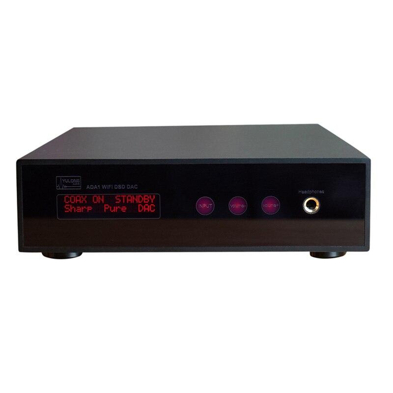 Authentique Yulong ADA1 32Bit 384 kHz numérique DSD WIFI entrée numérique à analogique casque amplificateur