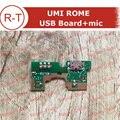 UMI ROMA Placa USB 100% Original Tablero de Clavija Del Cargador USB Con Módulo de micrófono Reemplazo Para ROMA ROMA Y UMI UMI x Smartphone