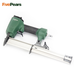 Image 3 - Pistolet cloueur pneumatique fivepoars pistolet à ongles droit agrafeuse de clouage pneumatique agrafeuse à fil de meubles F30