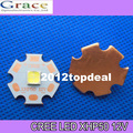 2015 NEW Cree XLamp XHP50 20W 12V LED Emitter 2546lm@19W Cool White LED J2 1A Chip Light with 20mm Cooper PCB