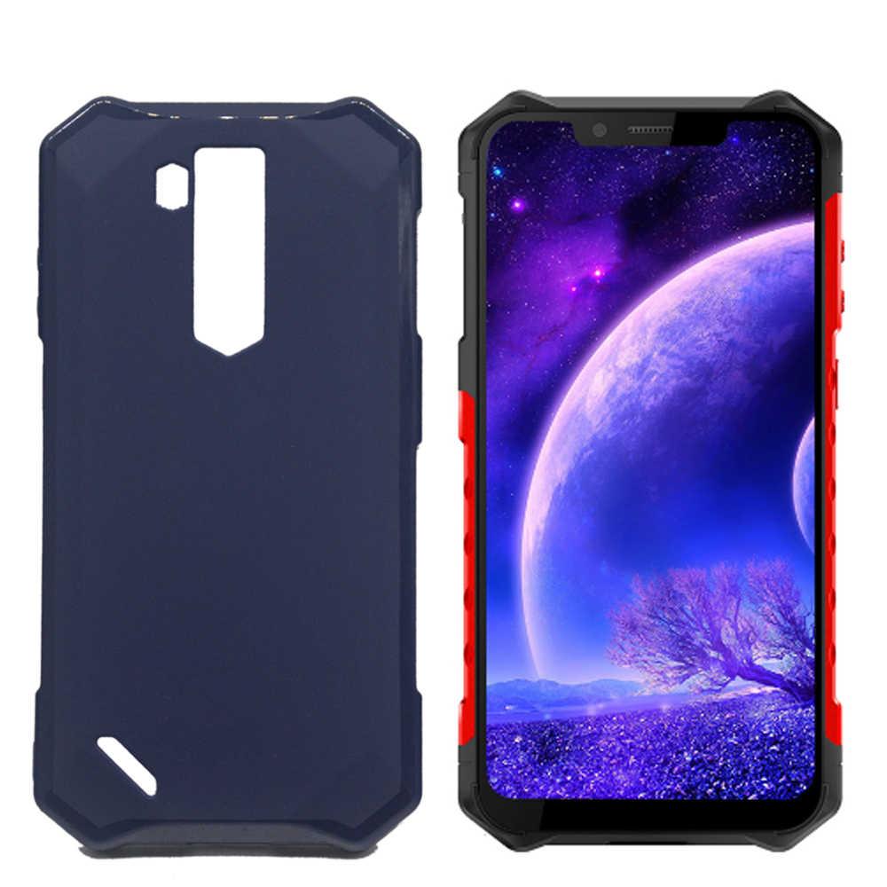 Silicon Case untuk Ulefone Armor 6E Mobile Phone Case Soft Tpu Pelindung Ulefone Baju Besi 6 Back Cover