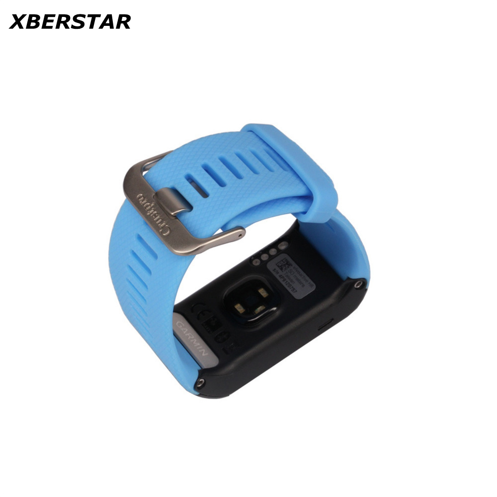 100% Brand New TPU Watchbands for Garmin Vivoactive HR Sports GPS Smart Watch Strap With Tools