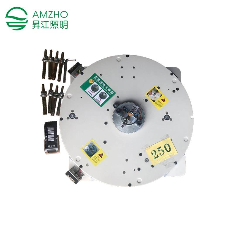 150 KG Chandelier Light Lifter Remote Control Wall Switch Hoist Pendant Lamp Lifter Chandelier Light Lifting