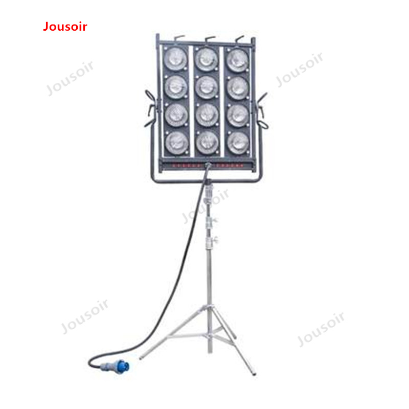 12 film and television film Field audience lamp 1000w*12 a tungsten light angle adjustable CD50 T03