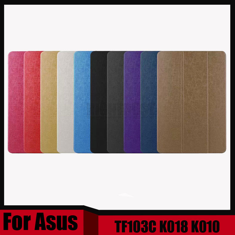 3 in 1 New thin Pu leather stand cover case For Asus Transformer Pad TF103C TF103CG TF0310C K018 K010 + Stylus + Screen Film цена и фото