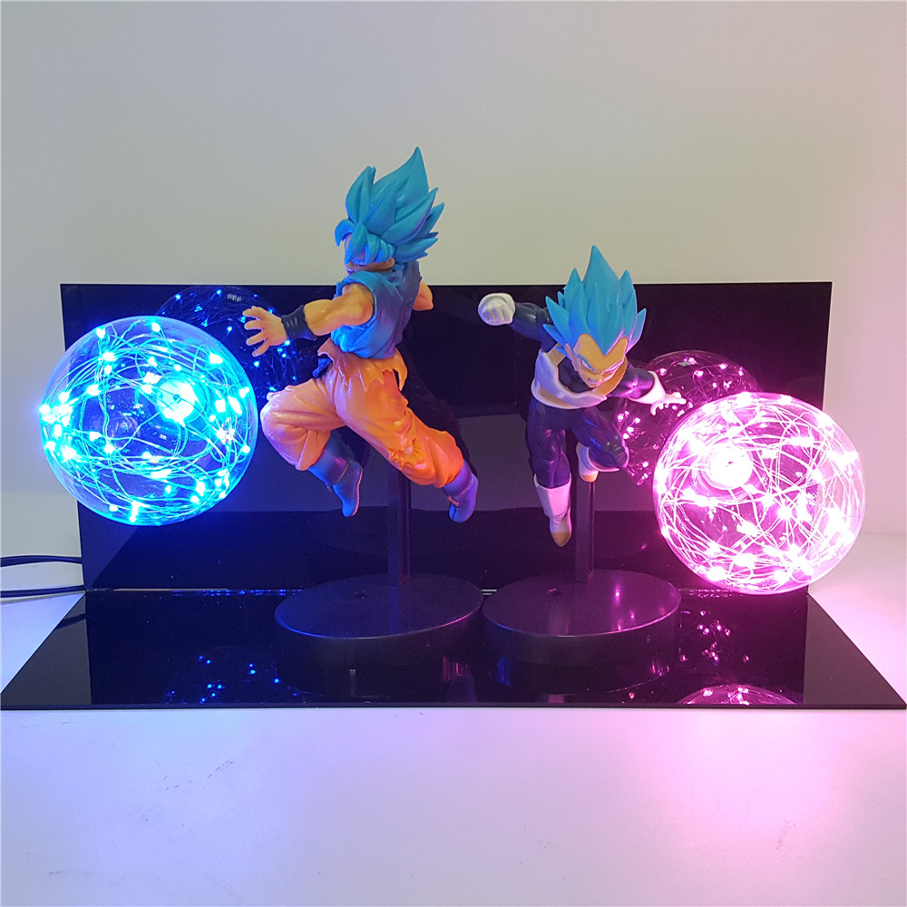 <font><b>Dragon</b></font> <font><b>Ball</b></font> Super Lampara Luminaria Goku Vegeta Anime <font><b>Dragon</b></font> <font><b>Ball</b></font> Z Goku Vegeta DBZ Led Night Light Desk <font><b>lamp</b></font> <font><b>Dragon</b></font> <font><b>Ball</b></font> <font><b>Lamp</b></font> image