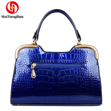 Fashion Bow Handbags Trend Single Shoulder Diagonal Handbag Patent Leather Ladies Commuter Bag Women