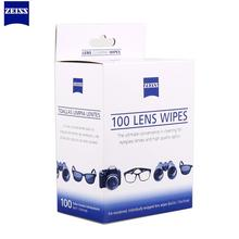 100 pcs ZEISS Napkins Microscopes Eyeglasses Camera Cleaner pen camera Optical воздуходувка Lens Cleaning Wipes