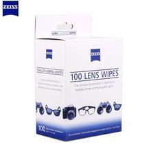 Toallitas ZEISS, 100 Uds., microscopios, anteojos de sol con cámara, pluma limpiadora, cámara óptica, plumas para limpieza de lentes