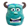 Monsters University Sulley Sullivan Plush Pillow Cartoon Cushions 35*30CM Cute Soft Sofa Car Decoration Kids Toys for Children