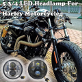 "New Motorbike Accessories 5.75"" headlight motorcycle 5 3/4"" led headlights For Harley 5-3/4"" Motorcycle Projector Daymaker"