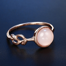 HOMOD Micro Simple Opal Rings for Women Cute Wedding Engagement Finger Female Charms Jewelry anillo hombre Dropshipping
