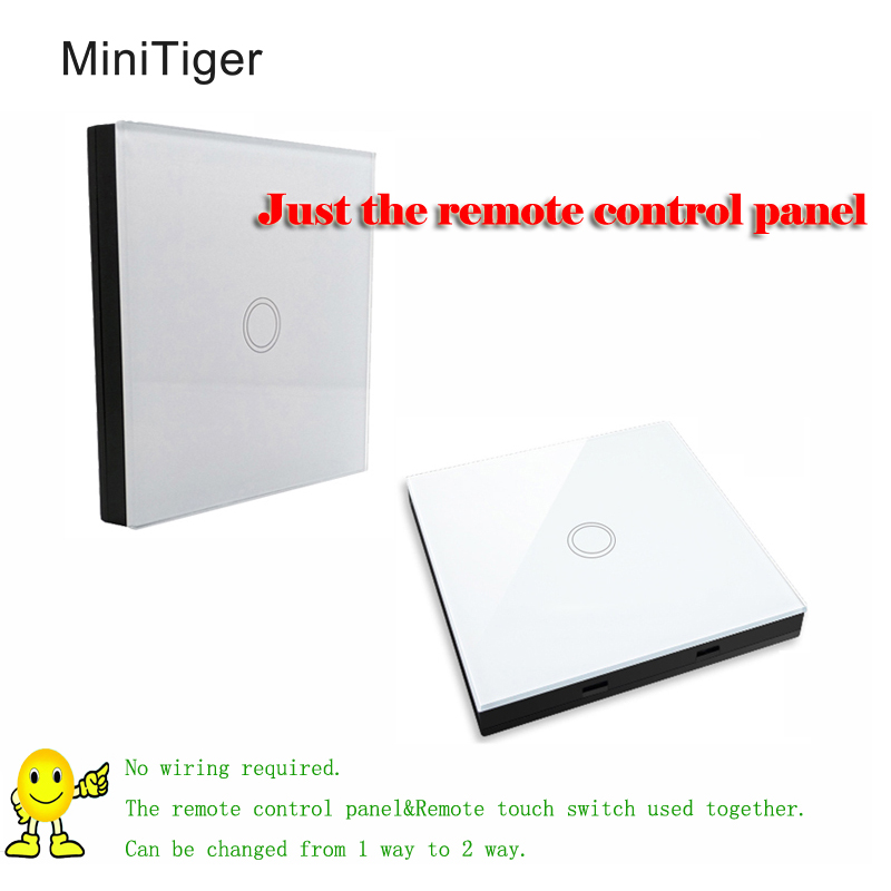 Free Shipping,Smart Home wireless 433Mhz(1527 chip) White Switch shape remote control,touch remote controller 30m binge elec 16 buttons remote controller 433 92mhz only work as binge elec remote touch switch hot sale