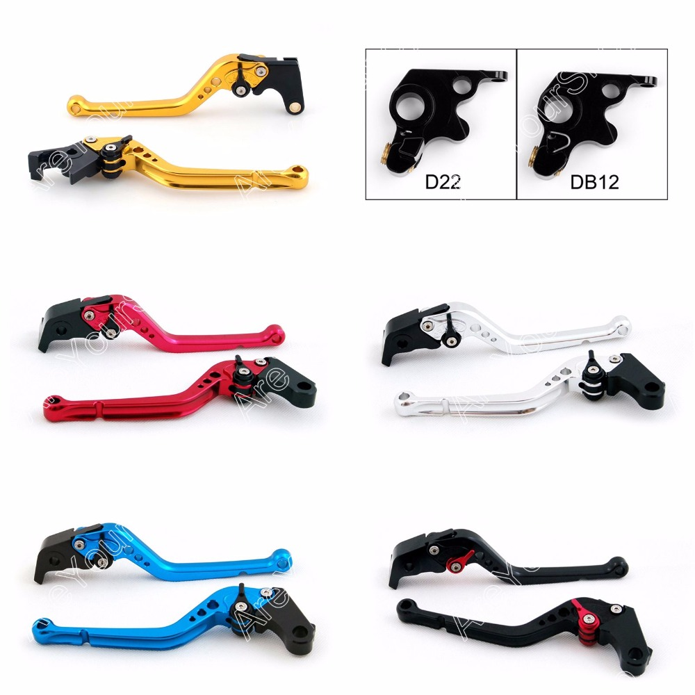 Areyourshop  Adjustable Brake Clutch Levers for Ducati 796 MONSTER / 696 MONSTER / ST4S 2003/ 695 MONSTER 2PCS  Motorbrakes motorcycle rear side view mirrors a pair brand new high quality for ducati monster 695 696 796 black
