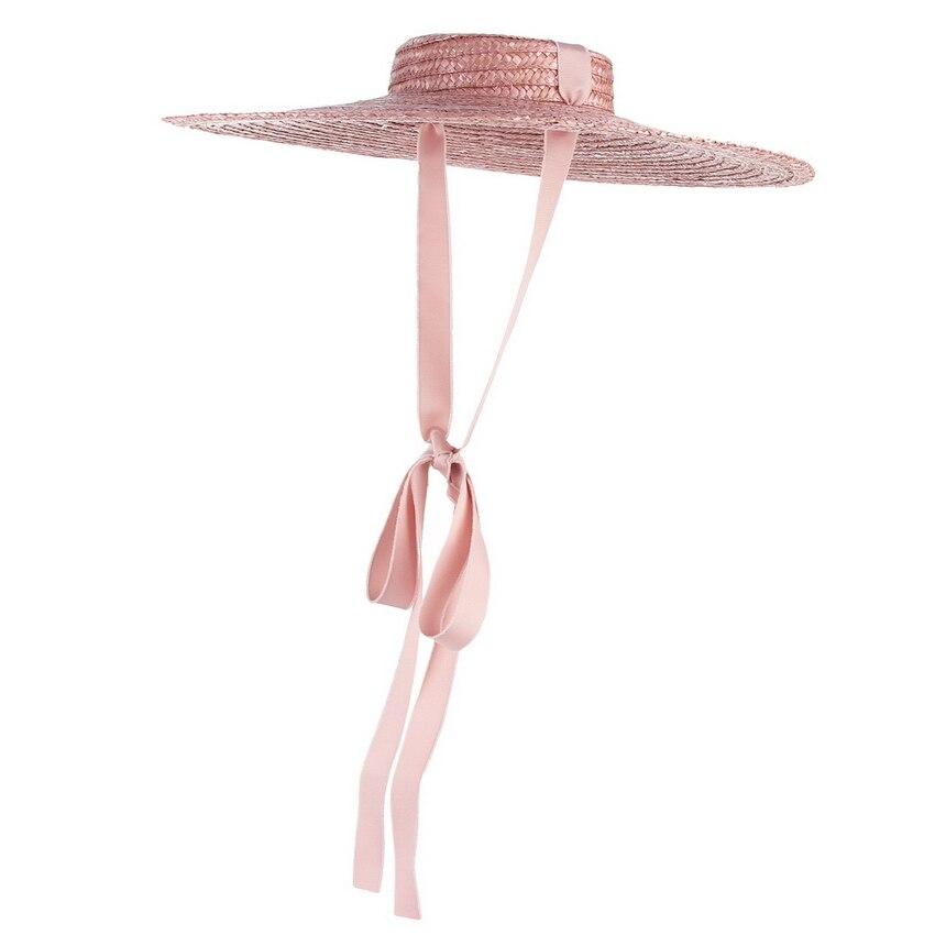 Palha Chapéus de Verão Para As Mulheres