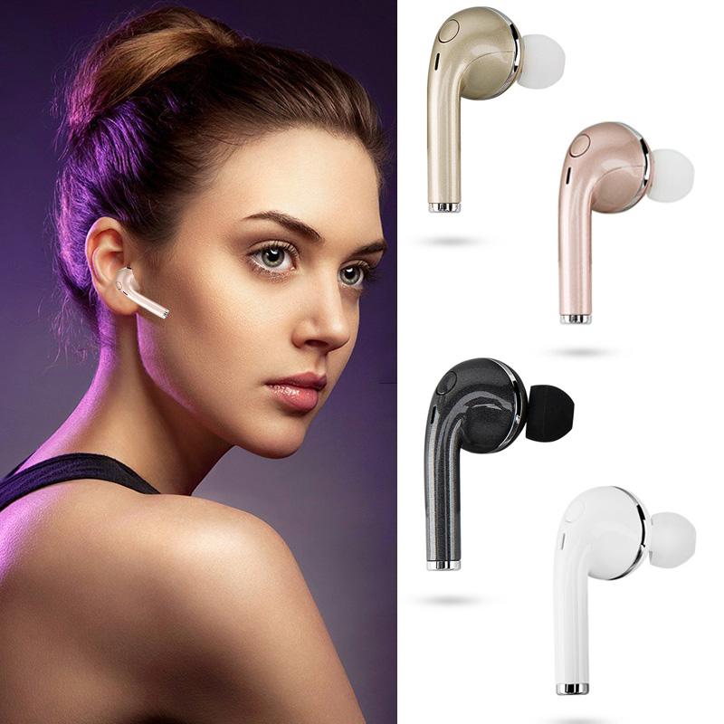 KOYOT Mini V1 bluetooth headset in-ear headphone CSR4.1 wireless earbuds earphone for iphone 7 7Plus apple fans mini wireless in ear micro earpiece bluetooth earphone cordless headphone blutooth earbuds hands free headset for phone iphone 7
