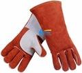 Welder Safety Glove Split Cow Leather Welding Work Glove