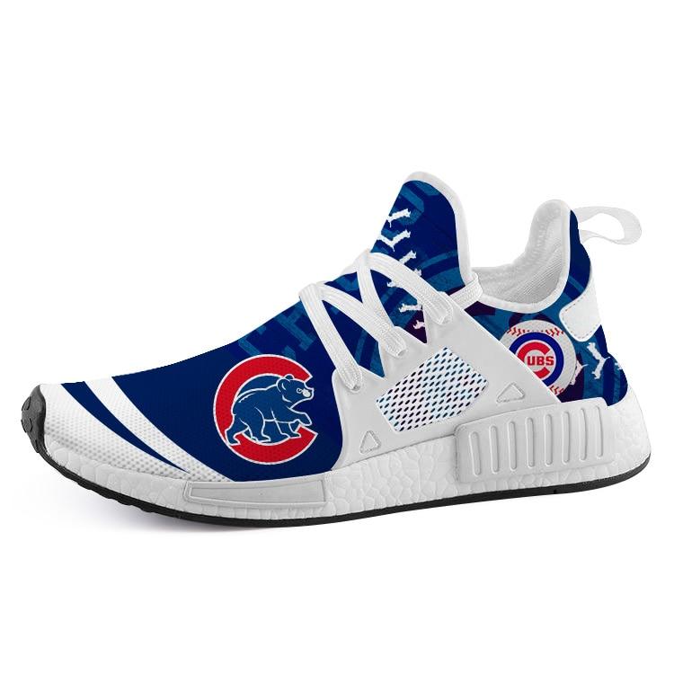 2019 Chicago Cubs Cincinnati Reds NMD2 Boost personnalisé fans hommes sport air course chaussures femmes dames baskets