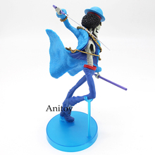 Brook Straw Hat 20th Anniversary Crew Blue Clothes Action Figure 17.5cm