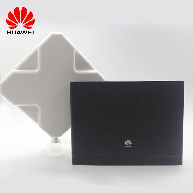 Unlocked New HUAWEI B315 B315S-22 CPE 150Mbps 4G LTE FDD TDD Wireless Gateway Wifi Router With Antenna PK B310,B593,E5172