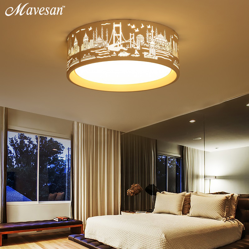 new medern LED ceiling lights Round and Square for Living room Bedroom Indoor home Light plafon Lamp  luminaire lampe deco new modern led ceiling lights for living room bedroom plafon home lighting combination white and black home deco ceiling lamp