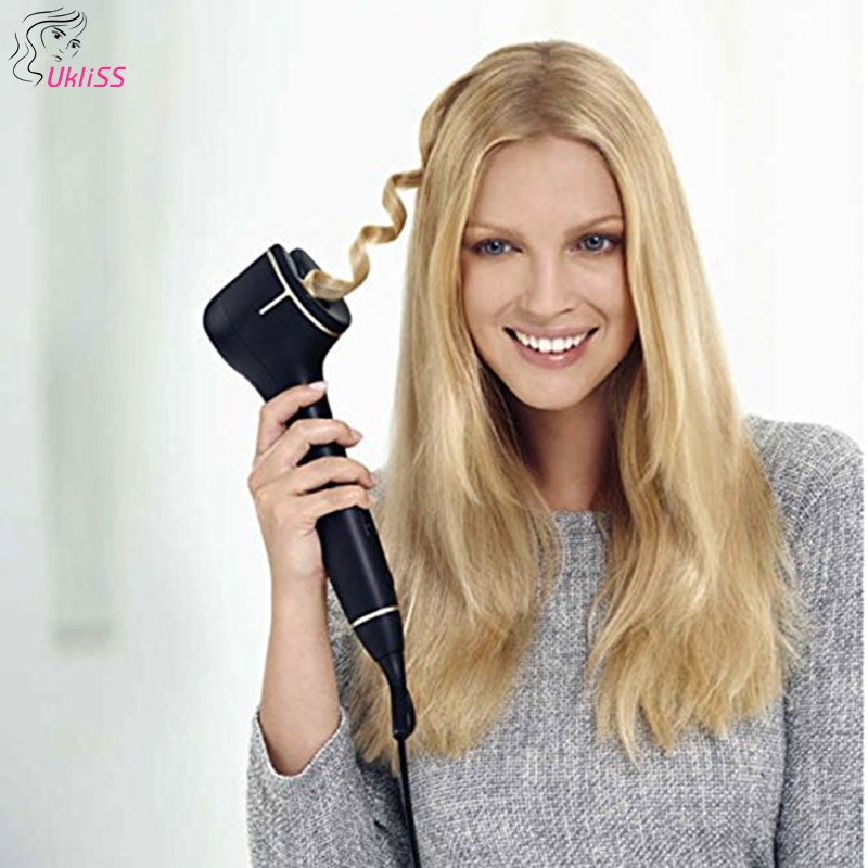 2018 New Coming Curling Irons with Steam Curling Iron Hair Curlers Safe Fast and Easy Curl with Spray Hair SPA new hair curler steam spray automatic hair curlers digital hair curling iron professional curlers hair styling tools 110 240v