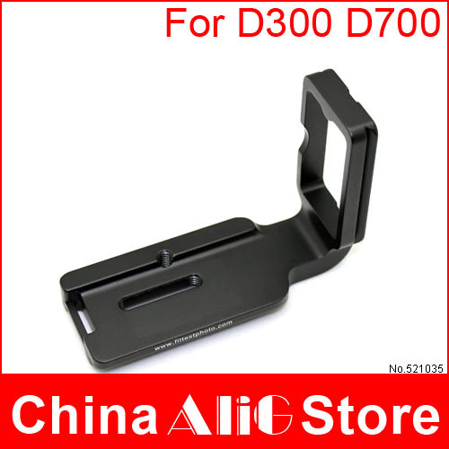 Camera professional tripod monopod head accessories L-plate quick release plate for dslr NIK0N D300 D700 dedicated (FD7/300L)