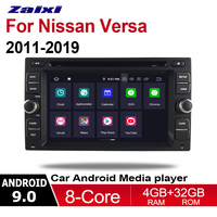 ZaiXi 2 Din Car Multimedia Player Android 9 Auto Radio For Nissan Versa 2011~2019 DVD GPS 8 Cores 4GB+32GB Bluetooth WiFi