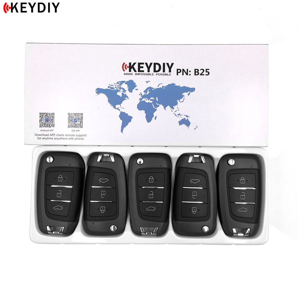 KEYDIY pour Hyundai Style KD-X2 KD900/URG200 programmeur clé série B KD MINI générateur télécommande B25