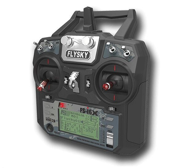 Mode 2 Flysky FS i6X 2 4GHz 10CH 10 Channels AFHDS 2A RC Transmitter With X6B