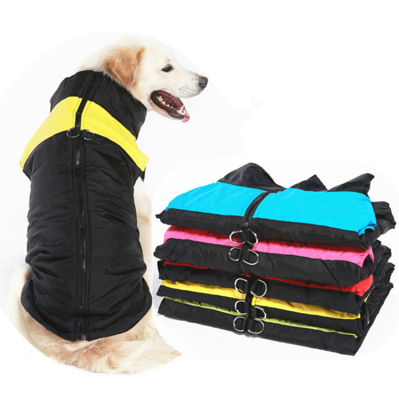 Large Dog Clothes Winter ropa perro Big Dog Clothing Bulldog Labrador Golden Retriever Vest Coat