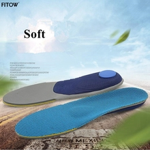 Newest 3 Size Unisex Arch Support Shoe Insoles Breathable Ortholite Sports Insoles Height Increasing Cushion Pads scyl 1 pair shoe pads removable 2 layers height increase insoles pads 3 5 cm unisex