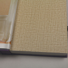Modern Hotel Wallpaper Designs Beige Brown PVC Fiber Flax 3D Textured Wallpaper Plain Solid Color Wall Paper for Living Room  plain modern brown beige grasscloth wallpaper wrinkled vinyl textured straw wall paper roll for hotel