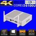 Eglobal Intel Core i3 5005U und Celeron N3050 N3150 in Mini PC Windows10 Desktop-Computer 2GHz HD 5500 Grafiken 4K HTPC HDMI VGA